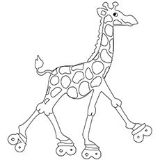 Top 20 Free Printable Giraffe Coloring Pages Online Giraffe