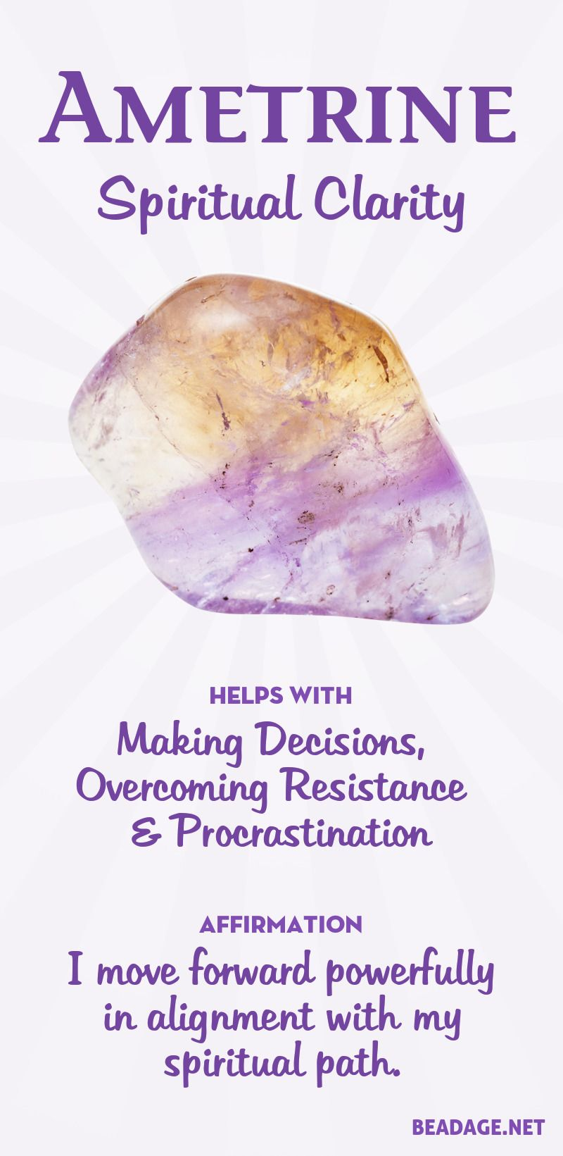 Ametrine Meaning and Properties #crystalhealing