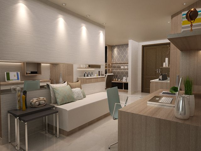 Modern Apartment Design Interiordesign Theroyalespringhill Residential Jakarta