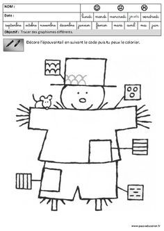 Fiches p dagogiques exercices graphisme maternelle - Le printemps gs ...