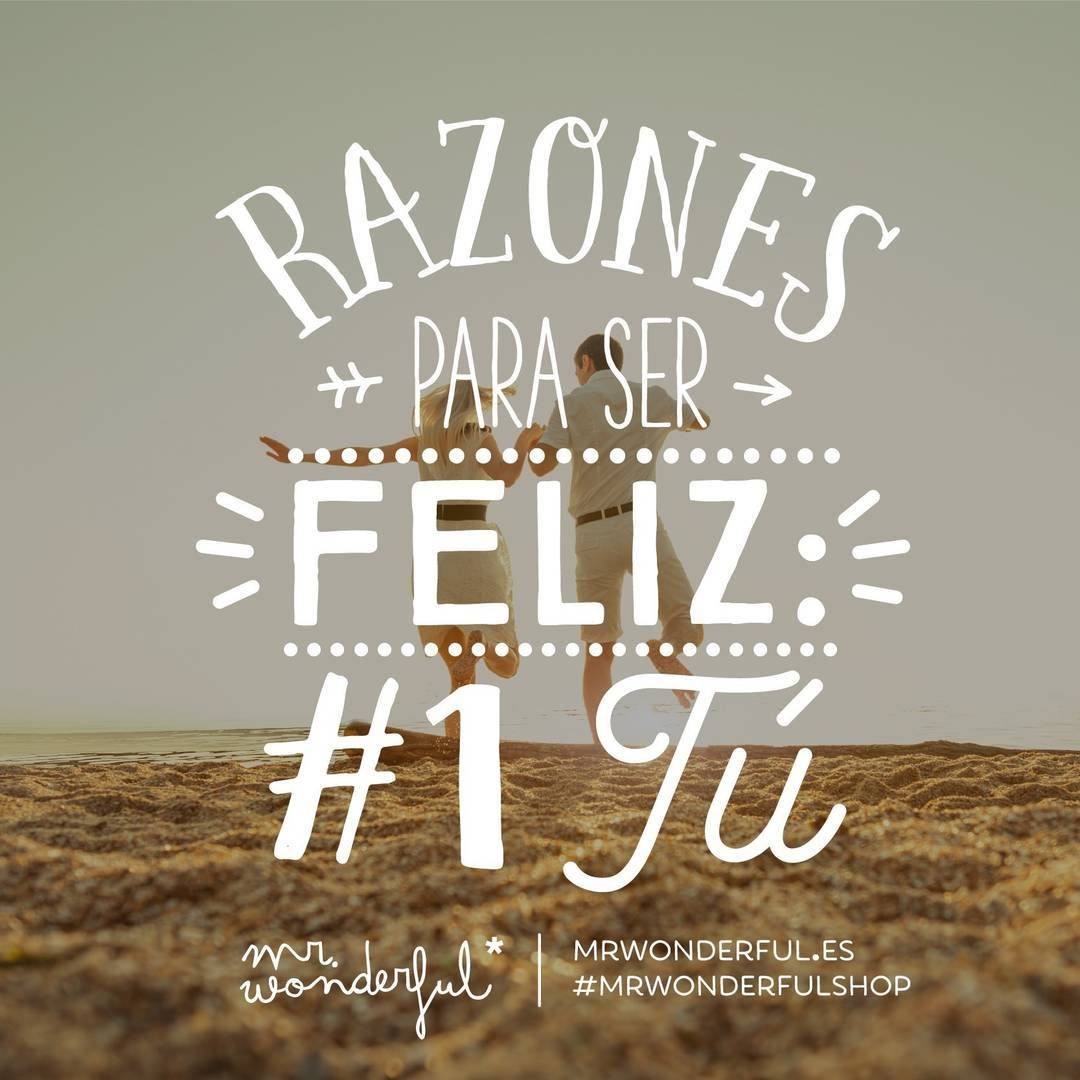 Algún romanticón en la sala? #mrwonderfulshop #quotes #happy #you ...
