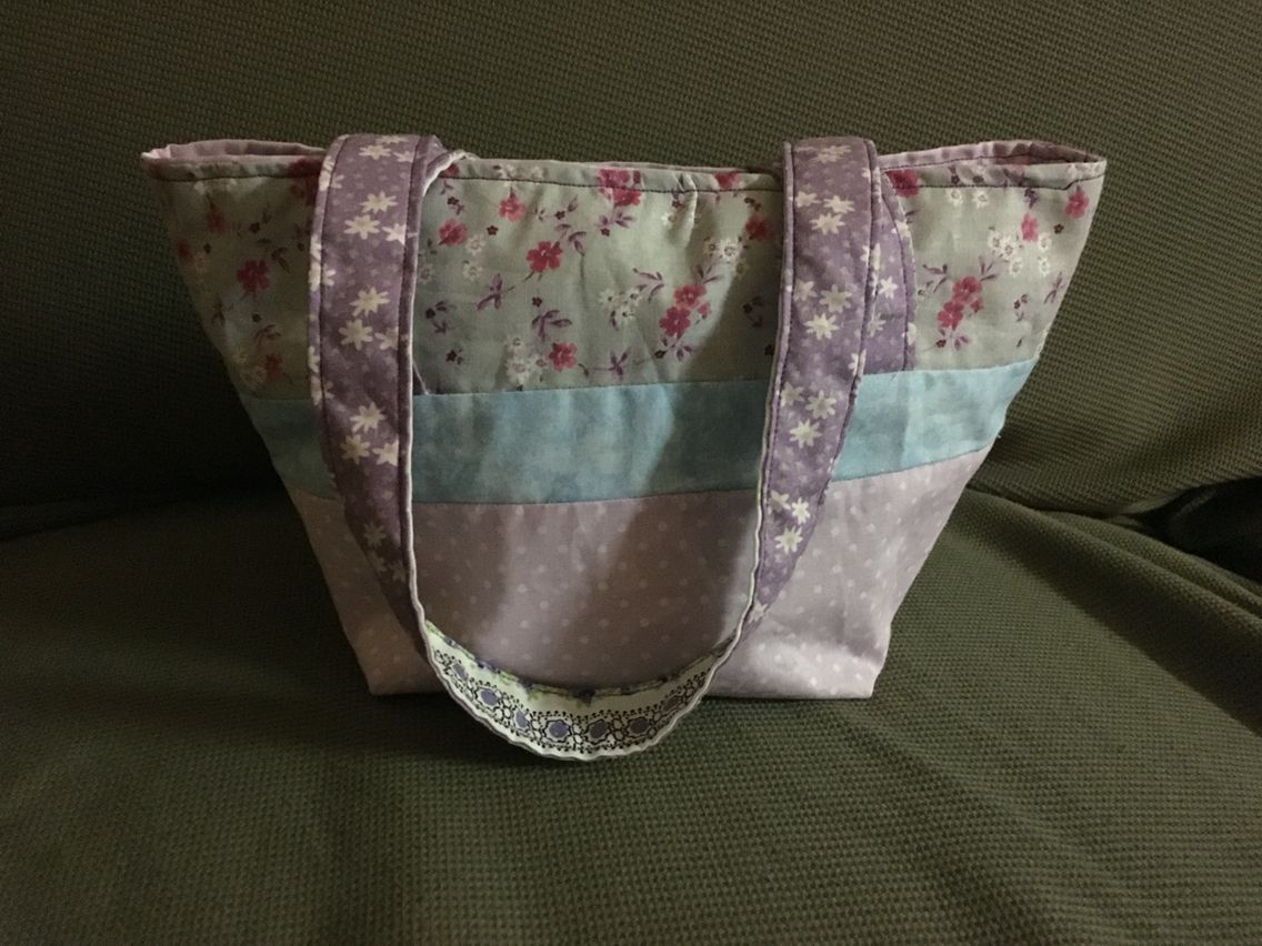 Fat quarter small tote