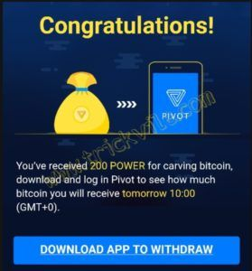 App to invest the rest in crypto
