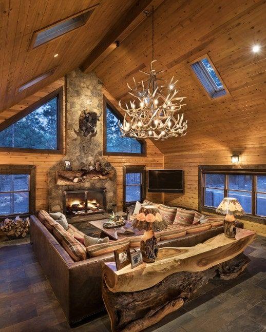 101 Rustic Living Room Ideas (Photos)