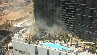 cotibluemos: Incendio en The Cosmopolitan,  Las Vegas