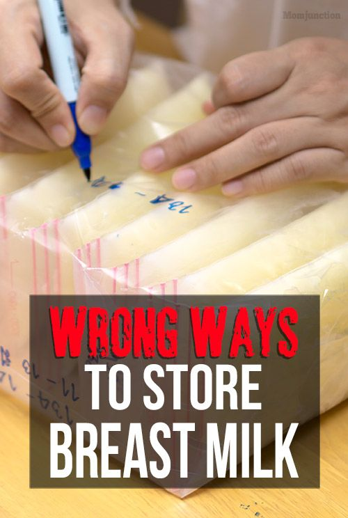 Breast Milk Storage 9 Wrong Ways That Can Be Dangerous -9477