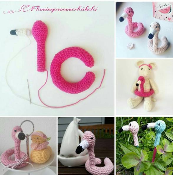 Flamingo Swim Ring by @ella_makes - Free Crochet Pattern | Crochet ...