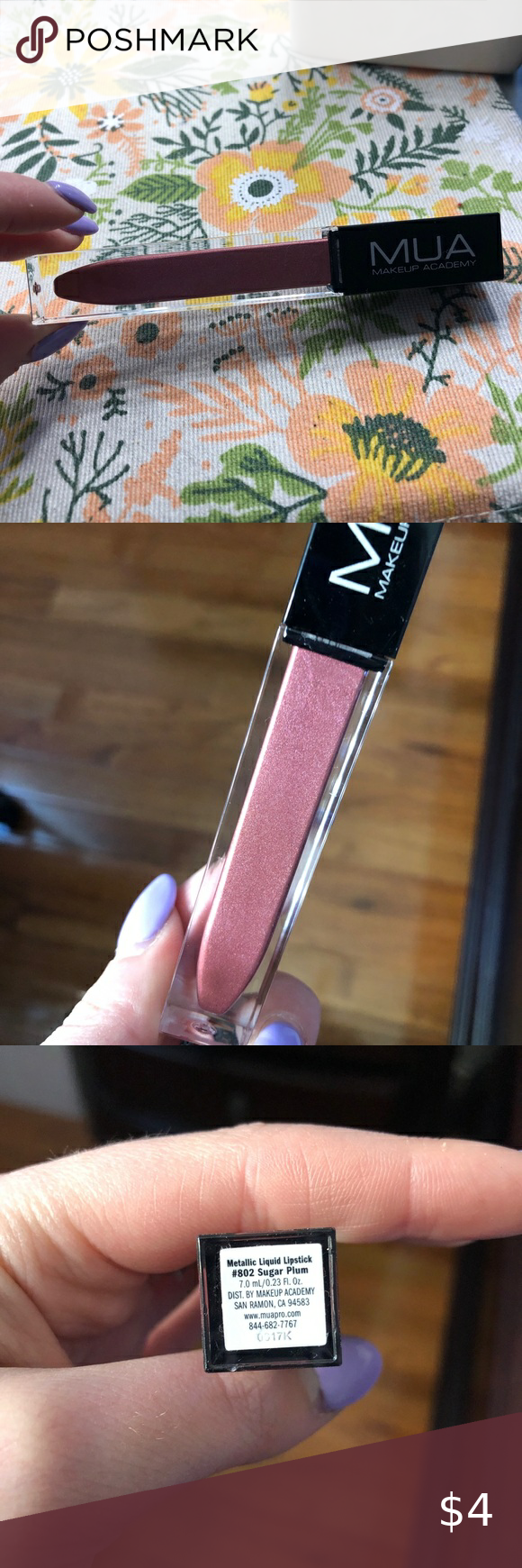 MUA Makeup Academy liquid lipstick MUA makeup academy