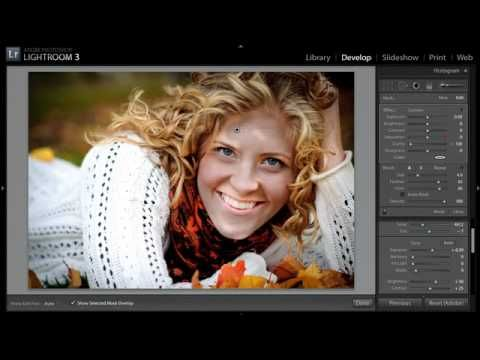 Lightroom Killer Tips: Smoothing Skin in Lightroom