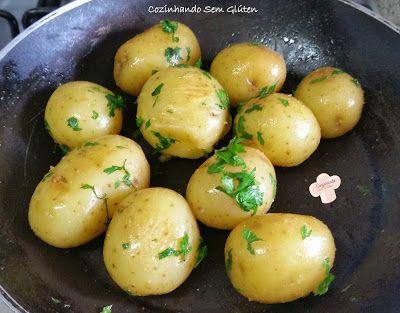 Cozinhando sem Glúten: Batatas salteadas