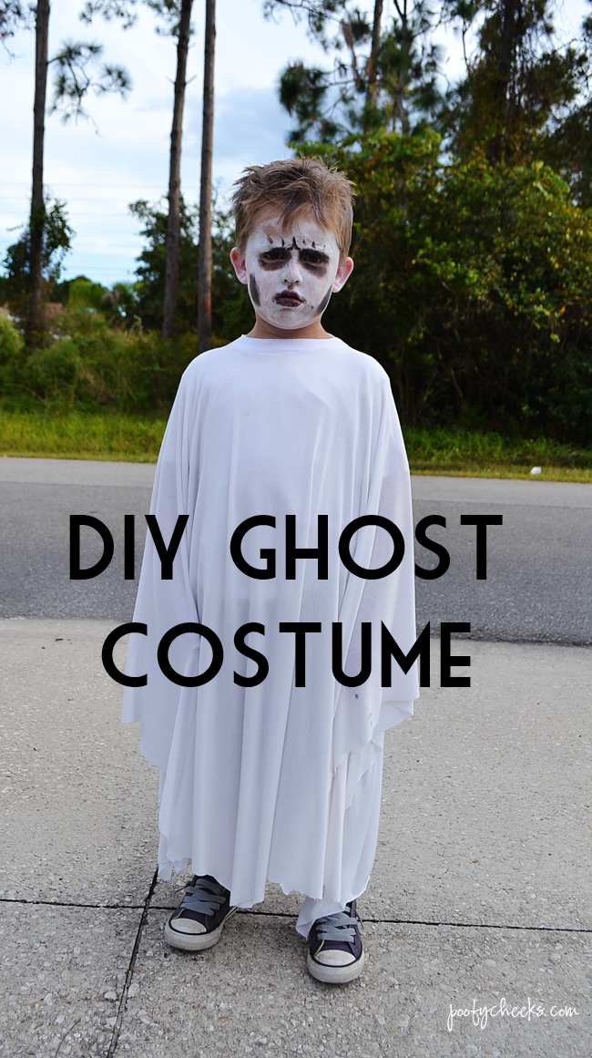 DIY Pirate And Ghost Halloween Costumes