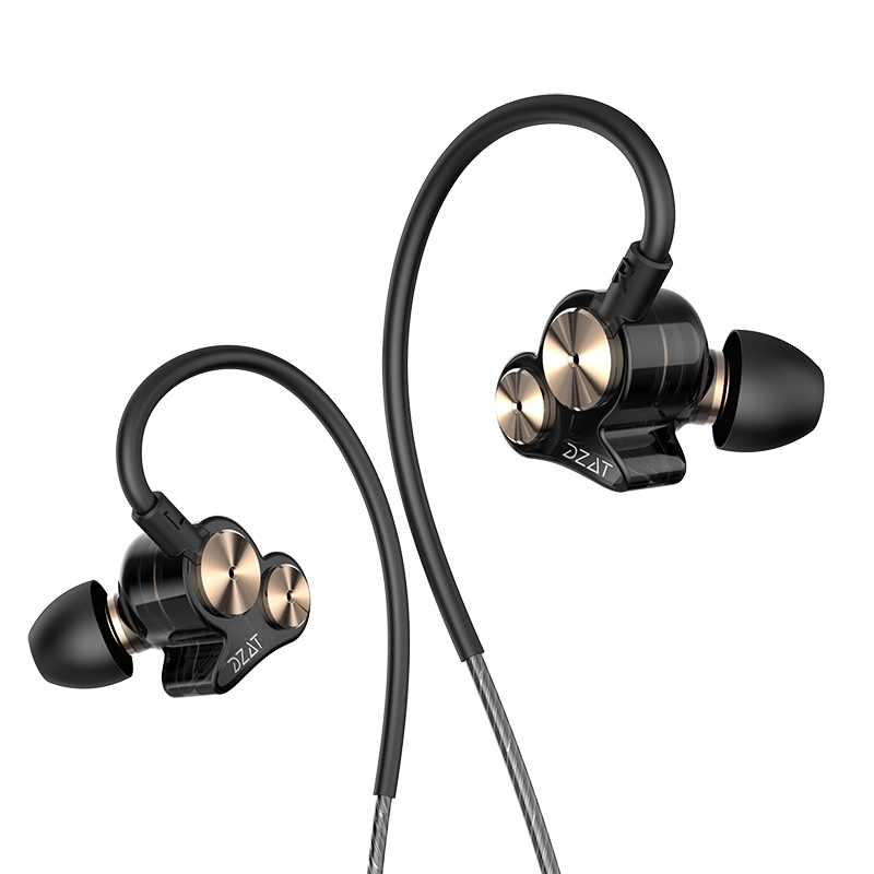 30$  Know more - DZAT DT-05 Stereo Earphone 3.5mm Dual Dynamic Wired Sport Headset Noise Cancelling Earbuds With Mic For Xiaomi Phone Gaming   #bestbuy