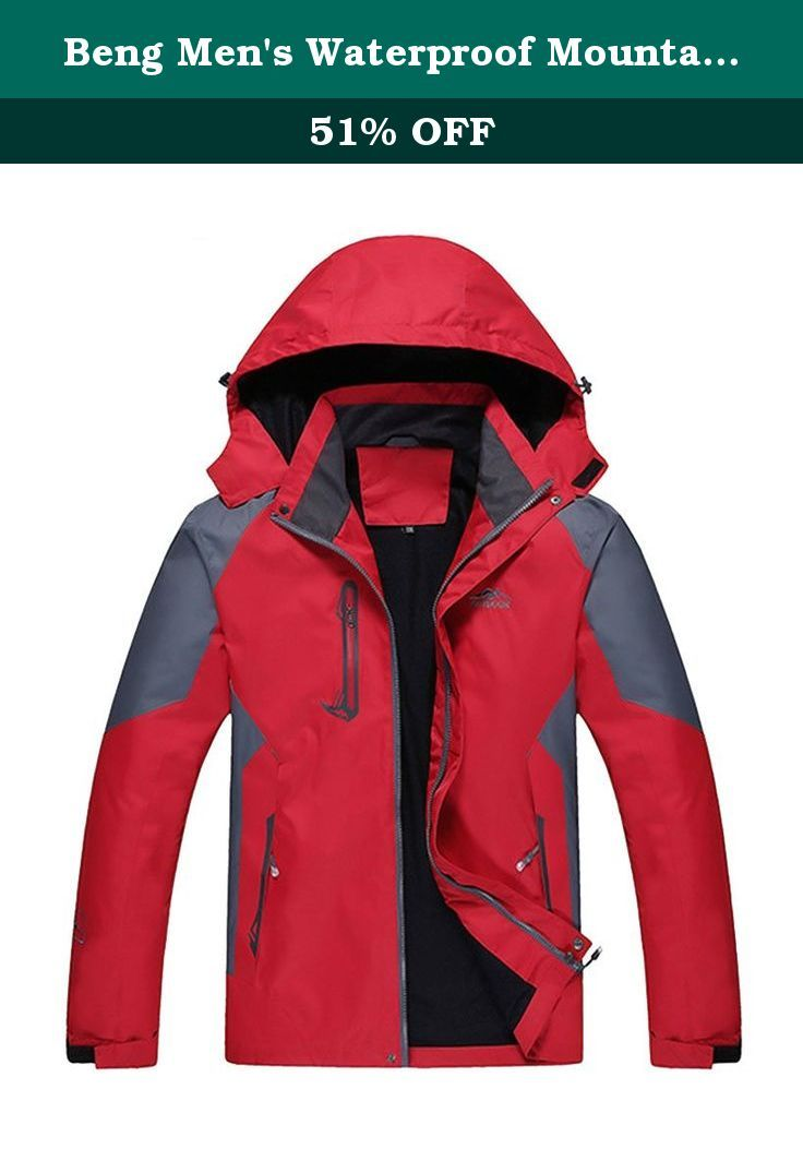c906857cf Beng Men's Waterproof Mountain Outdoor Jacket. Items are sent from ...