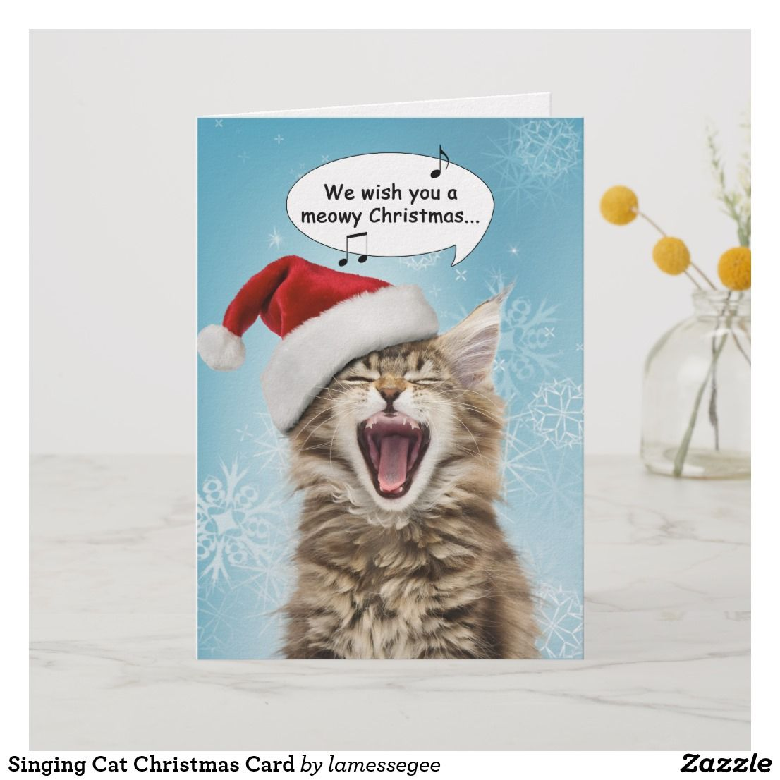 Meowy Christmas Custom Cat Cards Www Tollebild Com