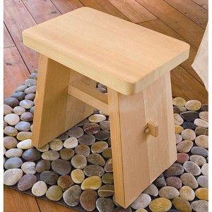 Small Japanese cedar shower bench | Baths | Pinterest | Shower ...