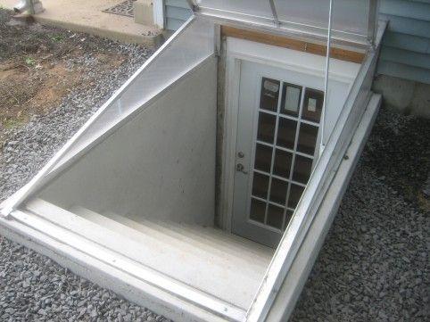 Cleargress Basement Door, Polycarbonate Bilco Doors, Transparent Bilco Doors,  Clear Cellar Doors