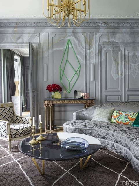 20 Of The Most Stylish Rooms In Paris Elle Decor Elle Decor