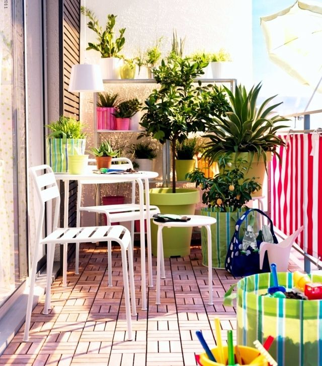 Brise-vue balcon – 25 idées d\'aménagement et décoration | Brise vue ...