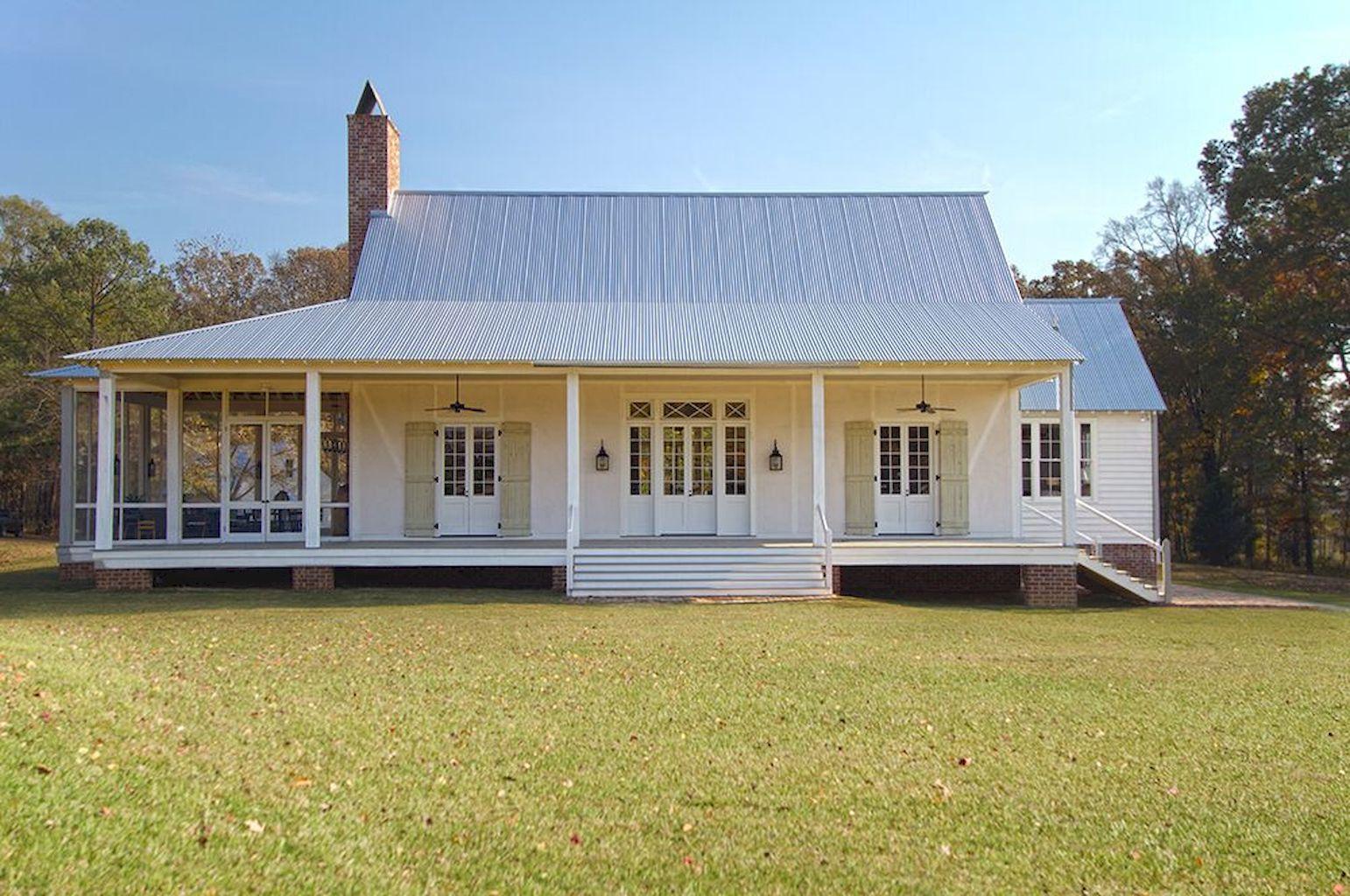 55 Farmhouse Front Porch Decor Ideas Modern farmhouse