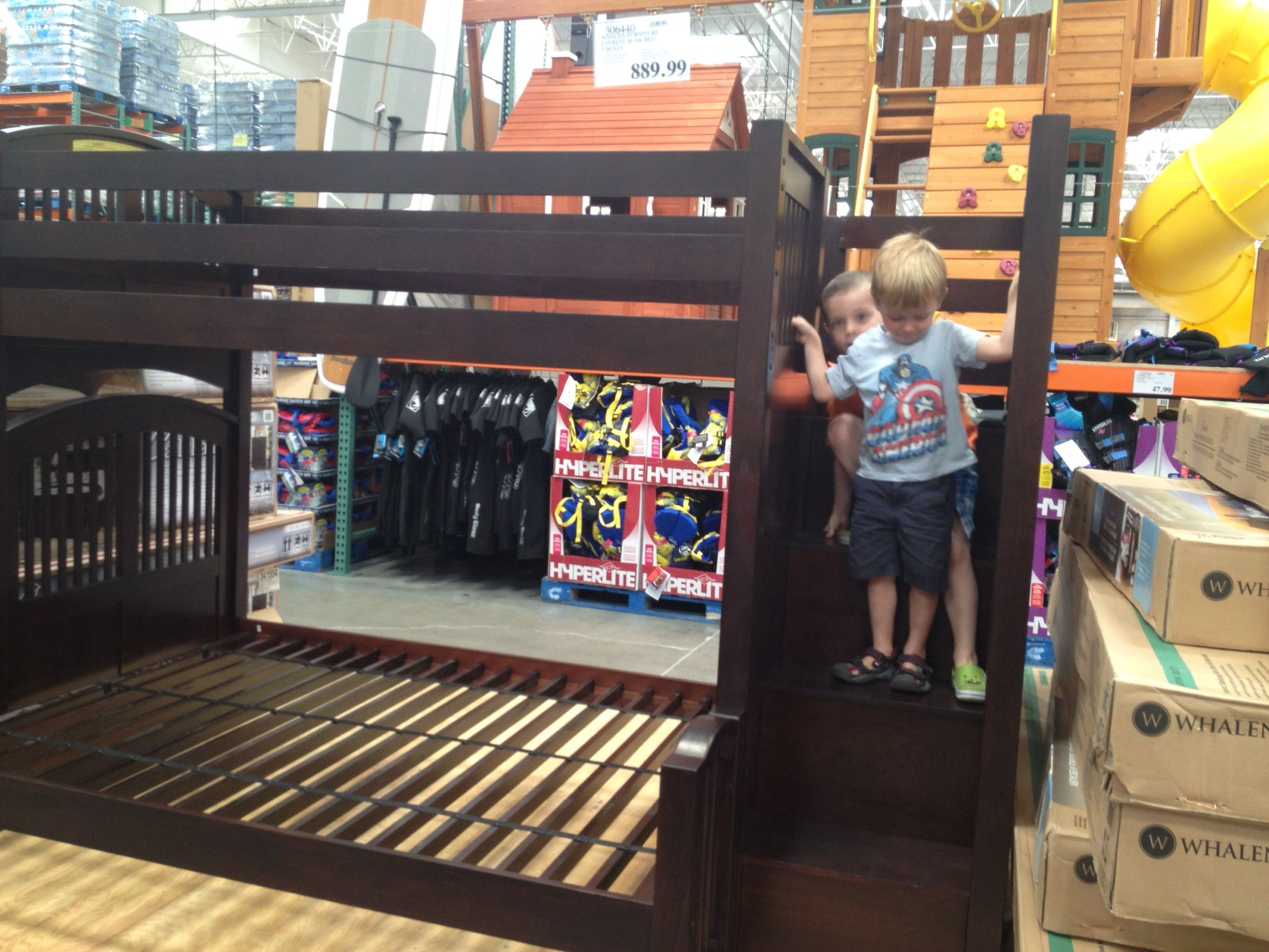 Bunk Bed I Want For Boys Room From Costco Kids Bunk