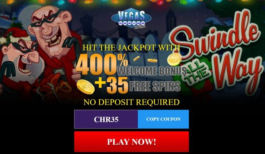 Vegas Casino Online bonuses | Christmas offers