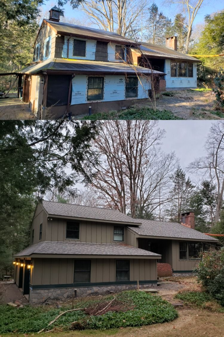 Board Batten Upgrades In 2020 Siding House Siding Cedar Siding