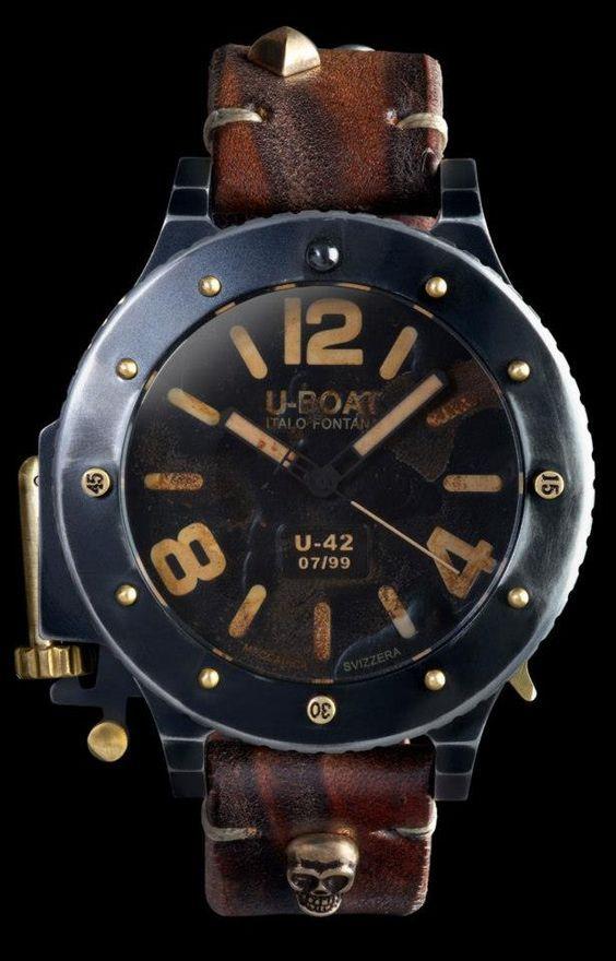 How sexy is this vintage u-boat?  U-Boat U-42 VNICVM Watch: