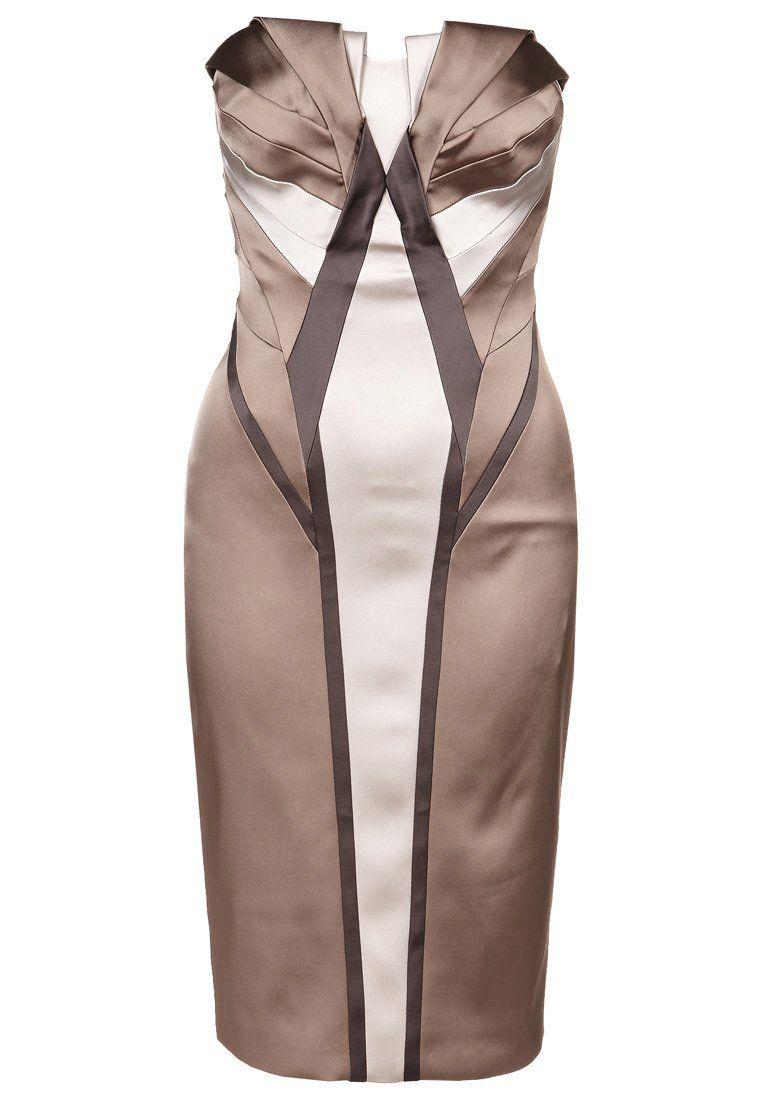 Cocktailkleid / festliches Kleid - cream/multi | Fashion | Pinterest ...