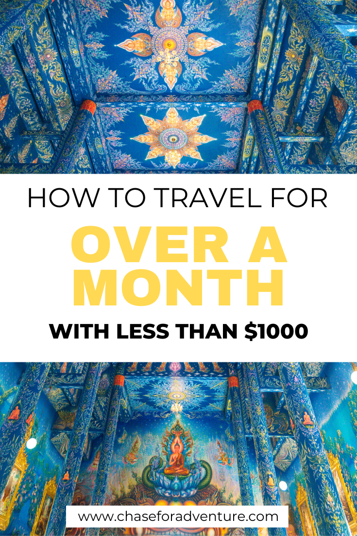 Wondering how to travel on a cheap budget? Well, friend, now you can learn how to travel for over a month even if you have a tiny budget or you're broke! Travel for cheap can be easily done by following the simple budget travel tips in this article! We take you through how to travel for free, travel hacking, and slow travel. Click through to get a free budget travel workbook and learn how to travel on a tiny cheap budget. #budgettravel #travelbudget #travelonabudget #travelforcheap #cheaptravel
