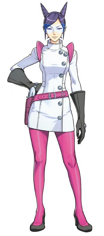 Aura Blackquill Phoenix Wright Ace Female Character Inspiration