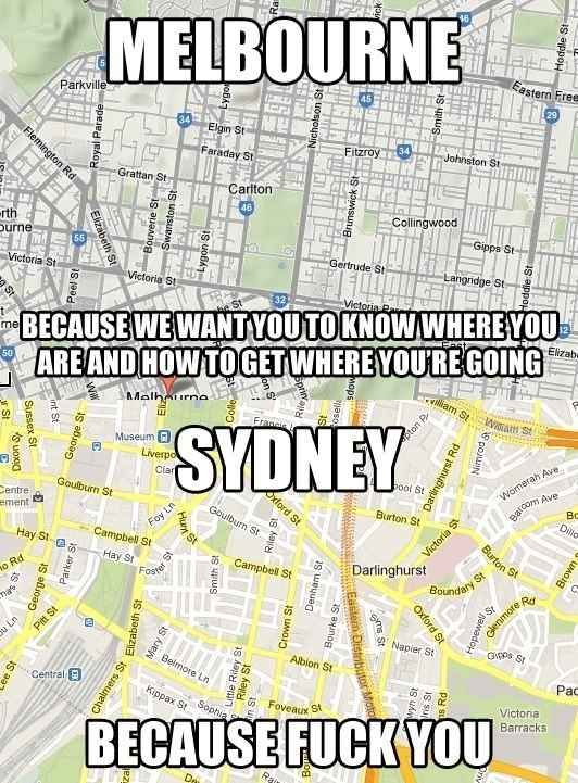 Sydney is surprisingly difficult to navigate  | Places to