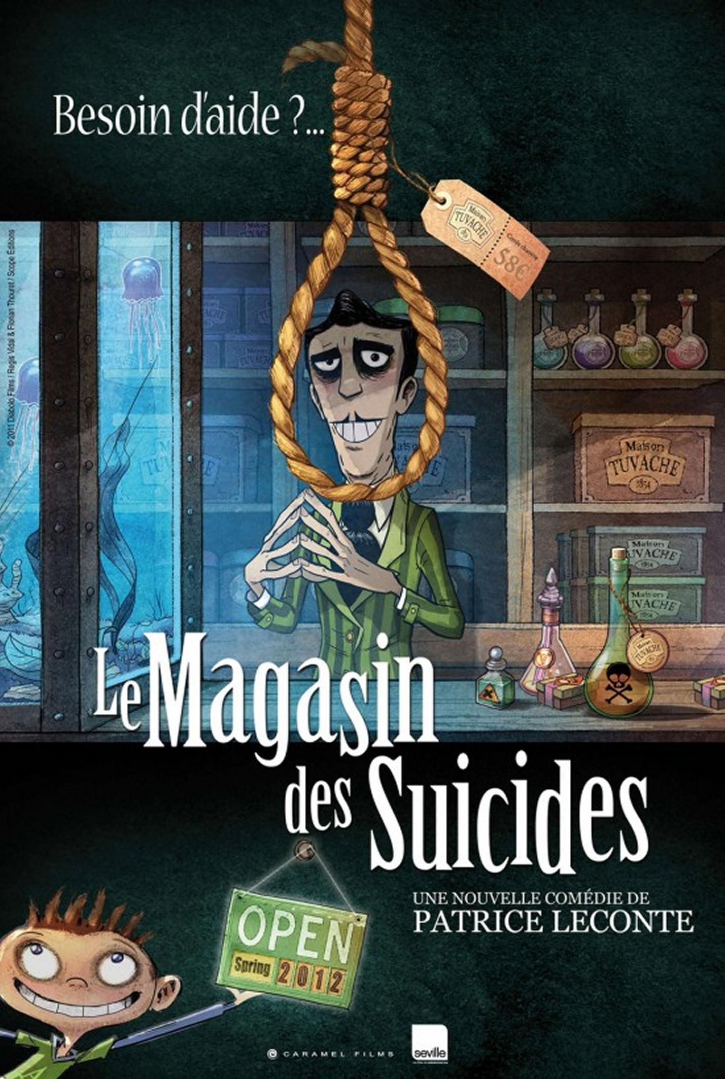 Image result for magasin des suicidés movie poster