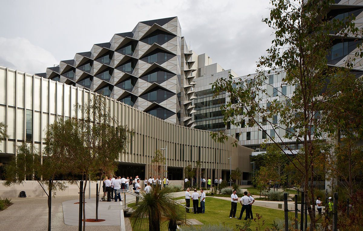 The Fiona Stanley Hospital breaks new ground in hospital