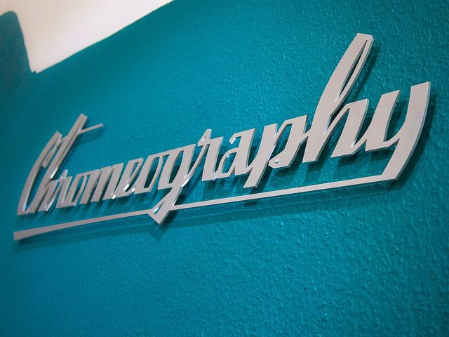 Chromeography Exhibition Title by Stewf, via Flickr