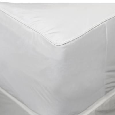 Allerease 2 In 1 Mattress Pad And Fitted Queen Waterproof Mattress Protector White Waterproof Mattress Pad Mattress Waterproof Mattress