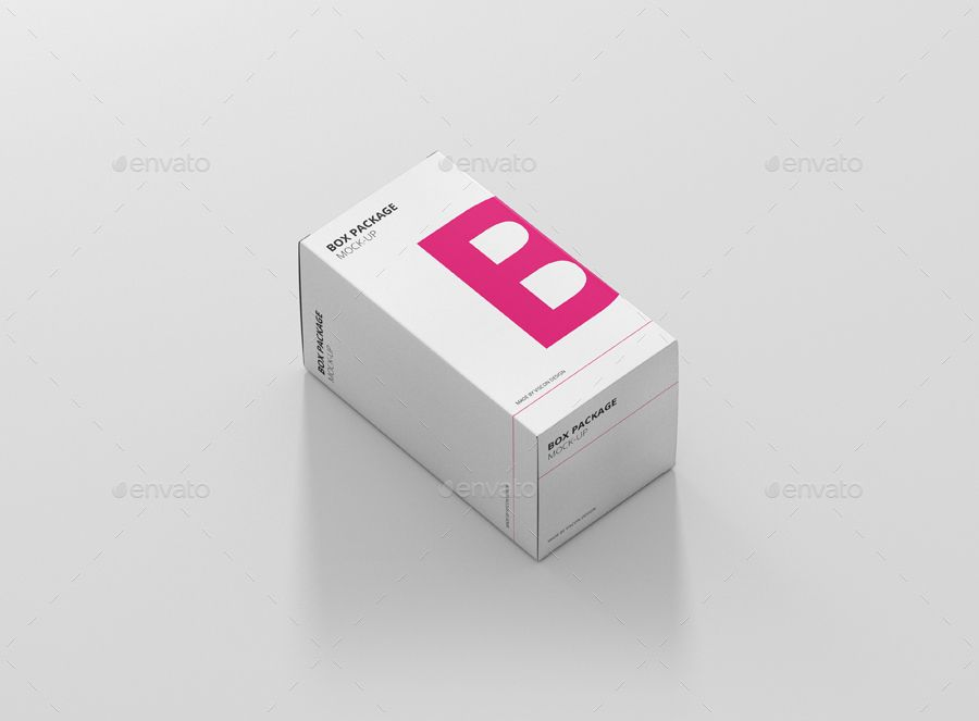 Download Package Box Mock Up Rectangle Ad Full Affiliate Rectangle High Customizable Package Box Packaging Packaging Branding Design