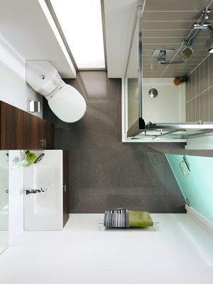 Using those corners in compact spaces Bathroom Shower Stylish