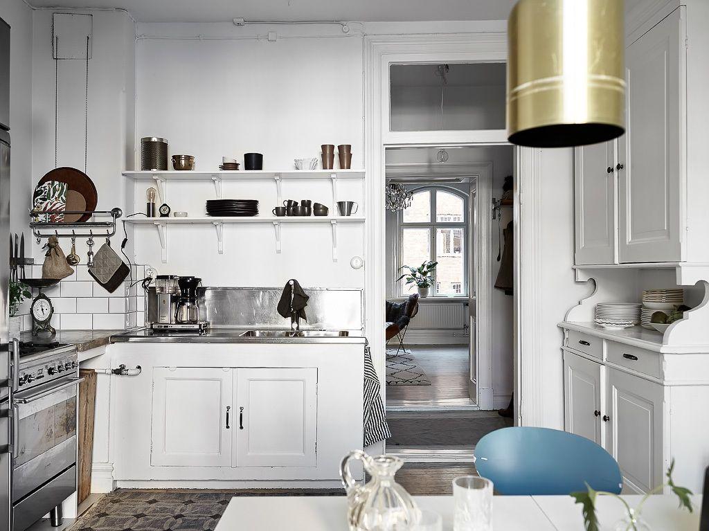 This Charming Swedish Apartment Has a (Genius) Hidden Surprise ...