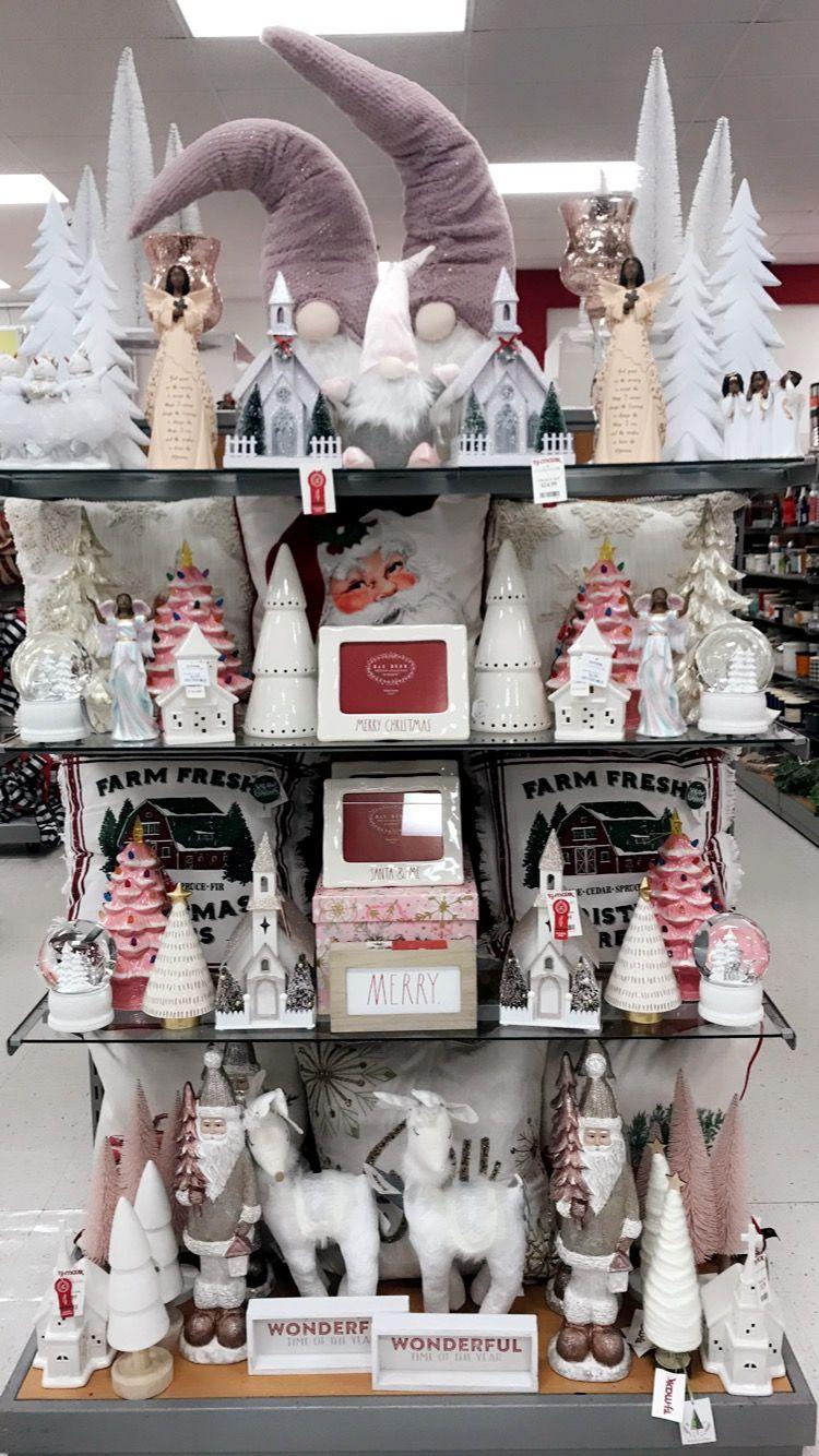 Pink Xmas 2019 Tjmaxx Pink Xmas Christmas Booth Merchandising Displays