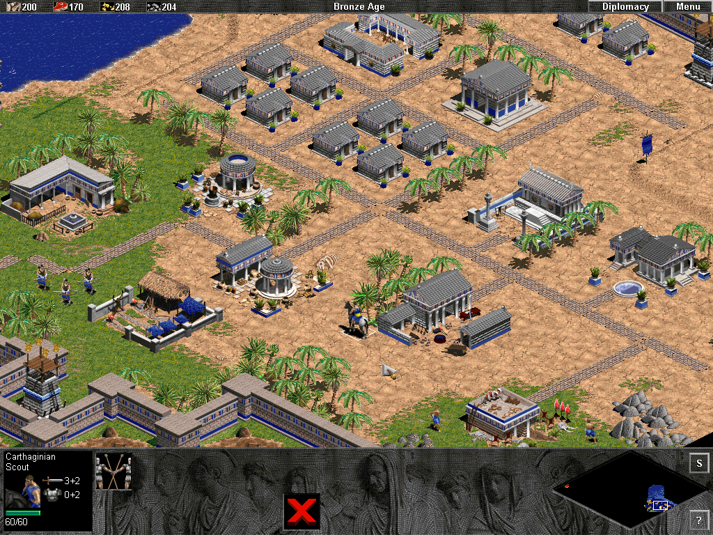Age of Empires The Rise of Rome Windows Nice Carthaginian