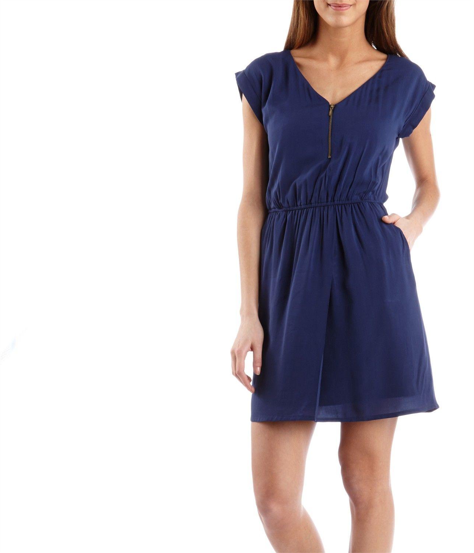 Womenus zip front dress fashionasctic pinterest zip front dress
