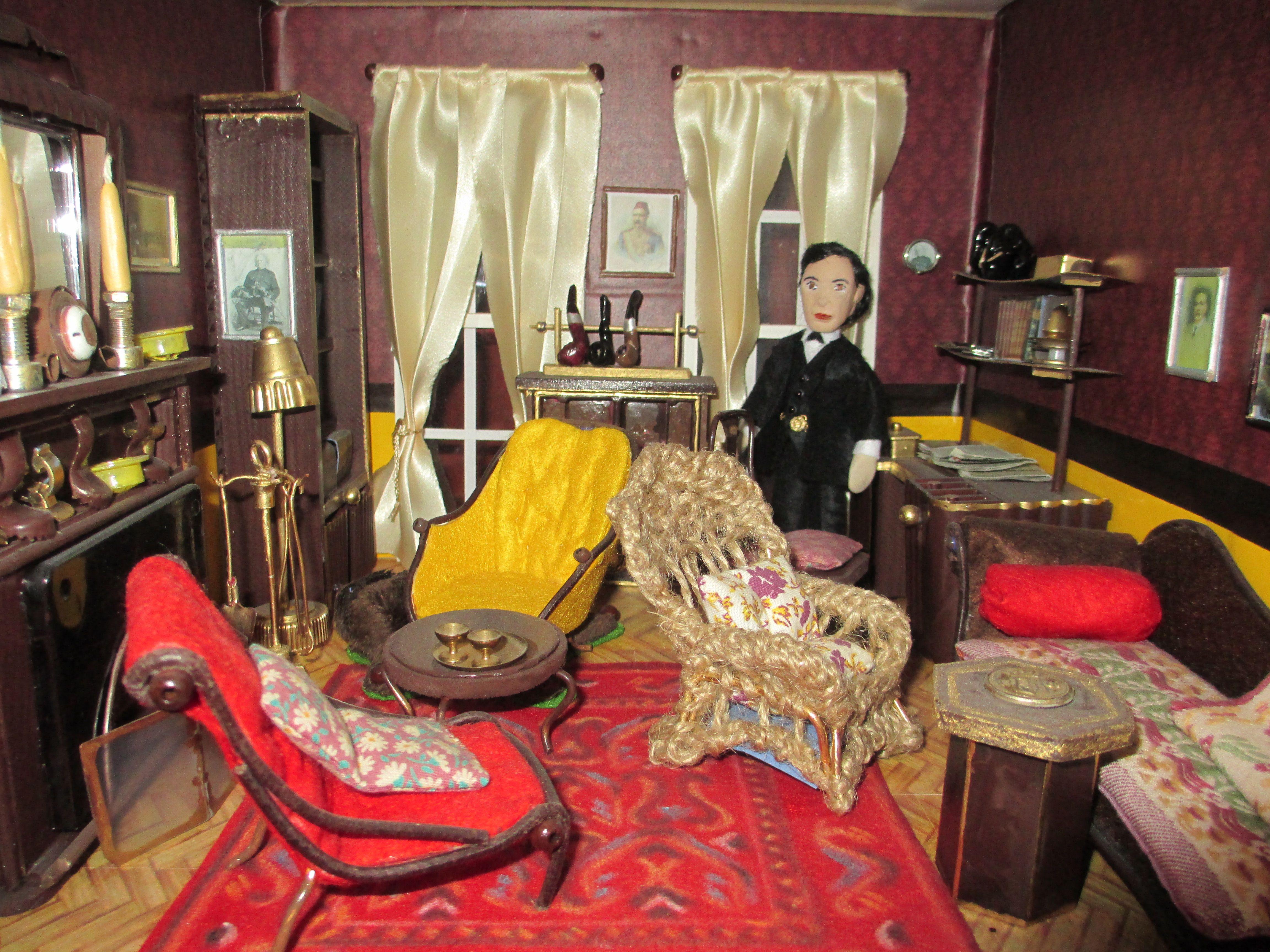 Living room victorian pinterest baker street sofas and 221b - Sherlock Holmes My Try To Make Him After After Jeremy Brett Living Roomjeremy Brettvictorianbaker Streetsherlock Holmes