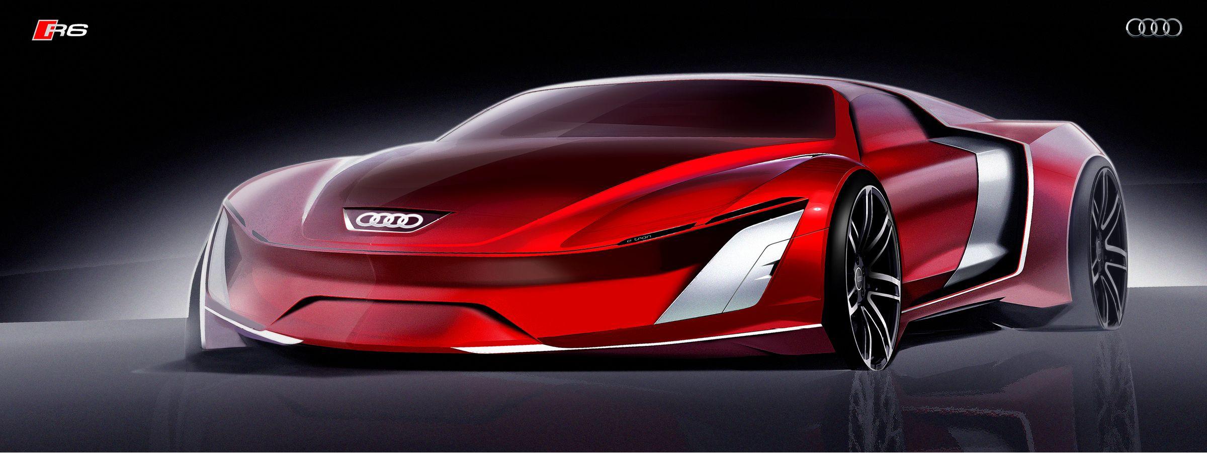 Audi R Richard Yoh CarSketches Pinterest Cars Car Sketch - Audi r6