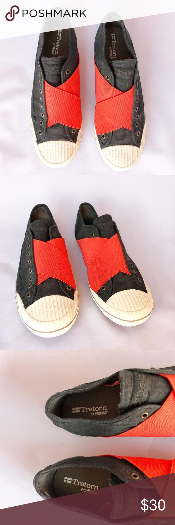 Tretorn Eco Ortholite Slip-On Sneakers
