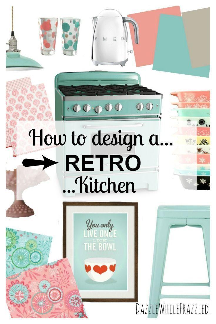 Easy Ways to Create a Rad and Retro Kitchen Ideas