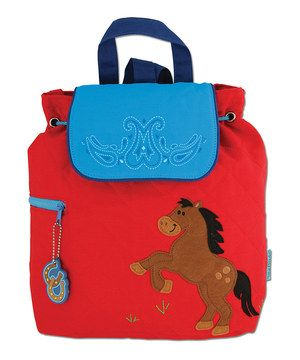 6604bcc91f23 Look at this  zulilyfind! Red Horse Quilted Backpack by Stephen ...