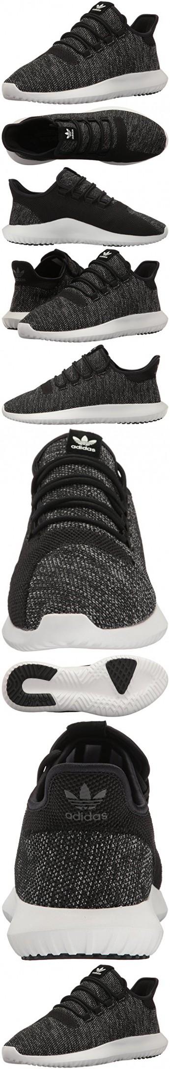 adidas originali degli uomini ombra tubulare a scarpa di moda, nero