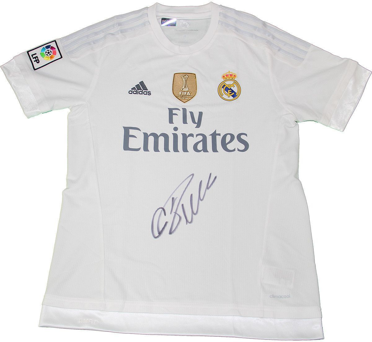 Cristiano Ronaldo Signed Real Madrid Home Jersey Signed On Front Icons Auth Products Ronaldo Jersey Cristiano Ronaldo Ronaldo