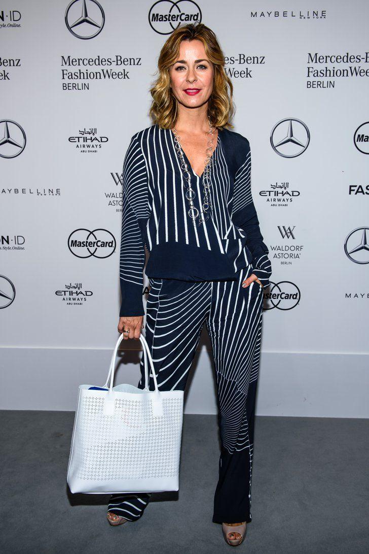 Pin for Later: Seht alle Stars bei der Berlin Fashion Week Bettina Cramer bei der Modenschau von Anja Gockel