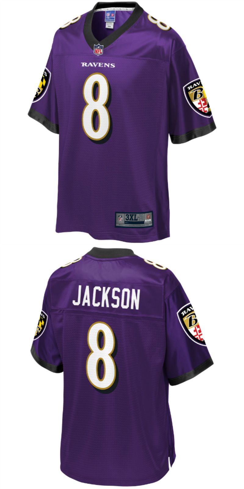 new arrival ba499 e96be UP TO 70% OFF. Lamar Jackson Baltimore Ravens NFL Pro Line ...